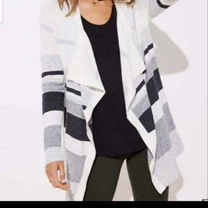 New loft draped cardigan